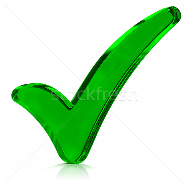 Green Check Mark Symbol Stock Photo Victor Correia Outstyle