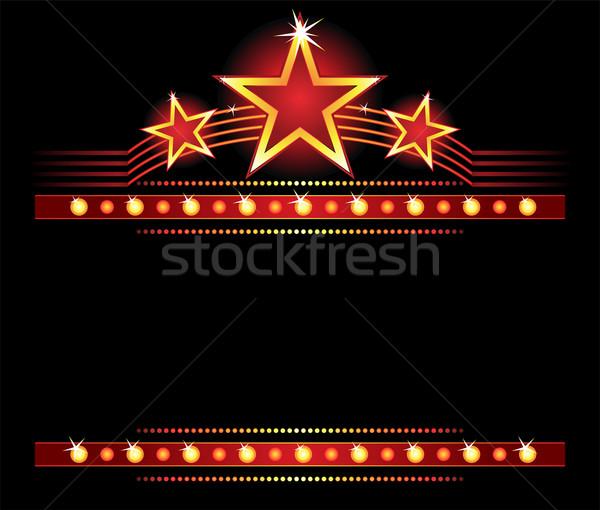 Estrelas cópia espaço grande lugar luz estrela Foto stock © oxygen64