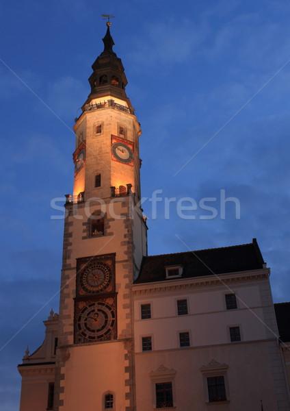 Rathaus in Goerlitz Stock photo © oxygen64