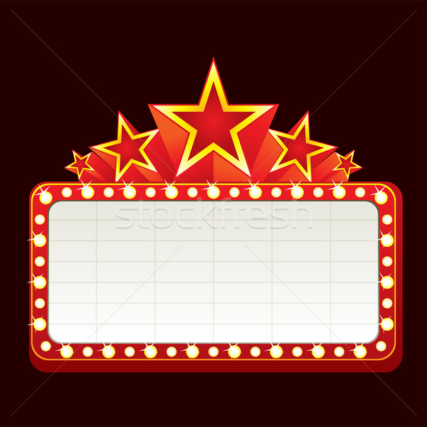Foto stock: Clássico · cinema · teatro · cassino · luz