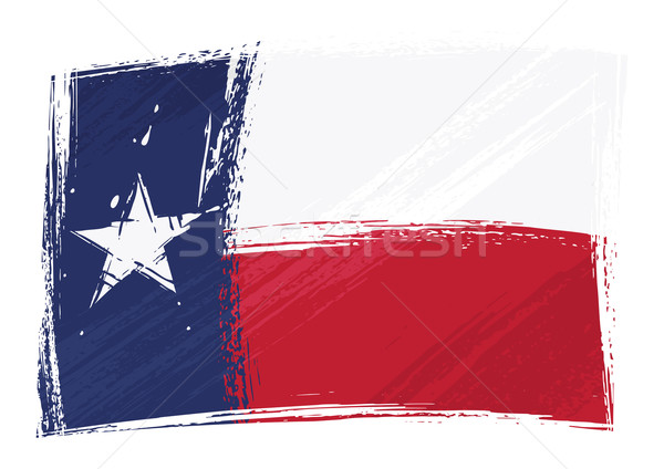 Grunge Texas flag Stock photo © oxygen64