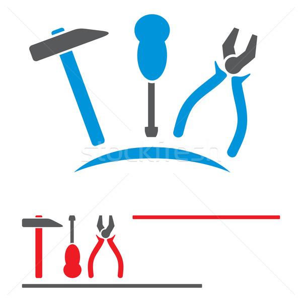 Mekanik araçları ayarlamak kavramlar semboller tamir Stok fotoğraf © oxygen64