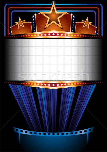 Cinema poster Stock photo © oxygen64