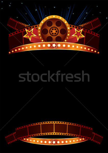 Movie poster Stock photo © oxygen64
