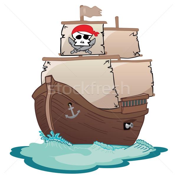 Corsair sailboat Stock photo © oxygen64