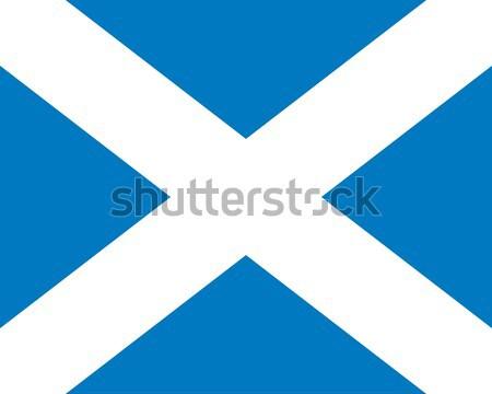 Сток-фото: Шотландии · флаг · вектора