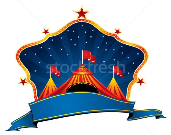 Circus marquee Stock photo © oxygen64
