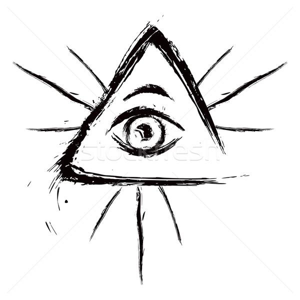 All seeing eye Stock photo © oxygen64