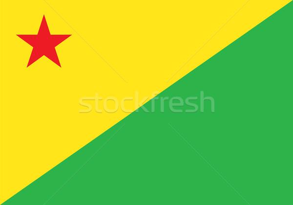 Acre flag Stock photo © oxygen64