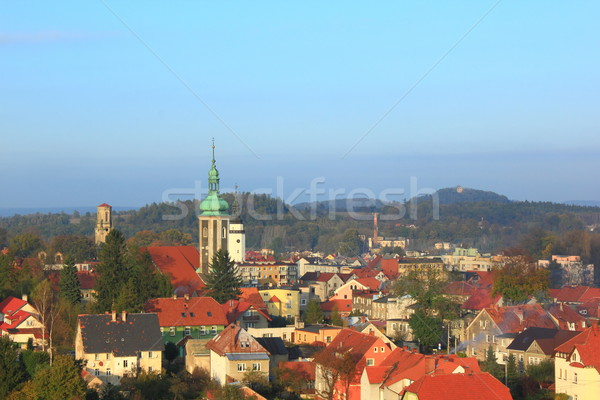 View at Mirsk Stock photo © oxygen64