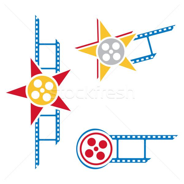 Film symbols Stock photo © oxygen64