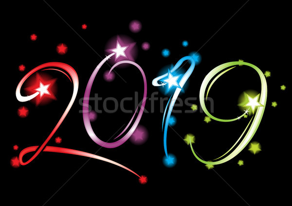 New Year 2019 grand event Stock photo © oxygen64