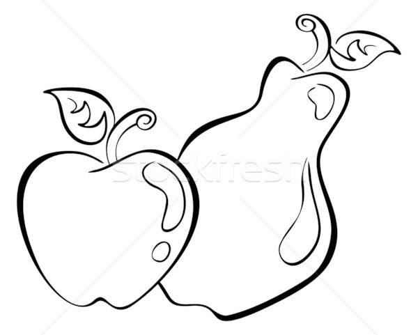 Ma pereira preto smbolo branco frutas ilustrao de adicionar lightbox baixar comp thecheapjerseys Images