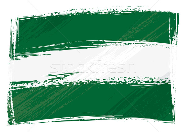 Grunge Andalusia flag Stock photo © oxygen64
