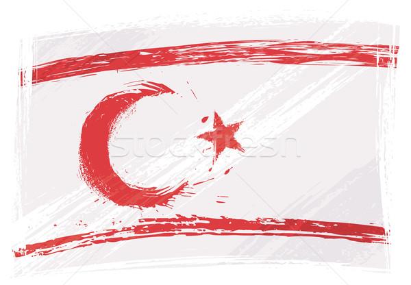 Grunge Northern Cyprus flag Stock photo © oxygen64
