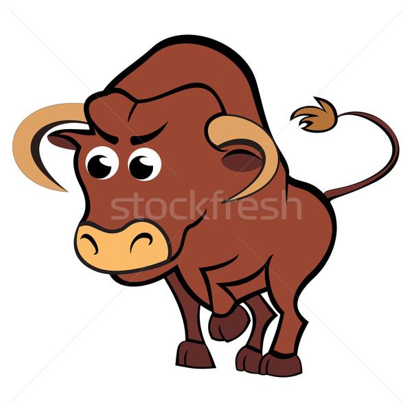 Child taurus Stock photo © oxygen64