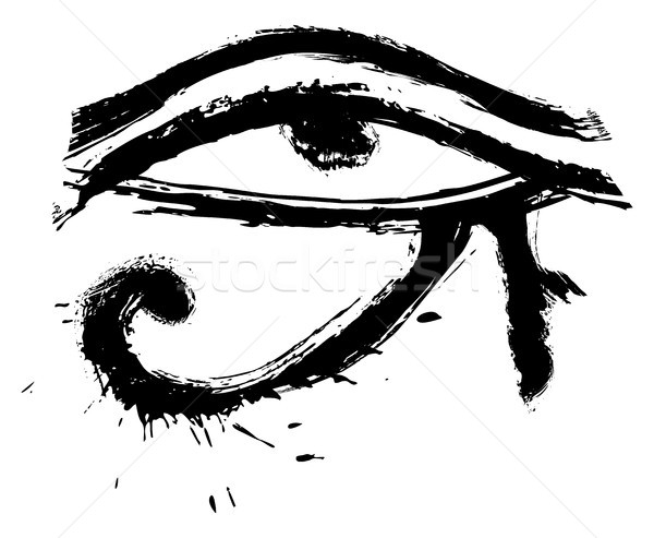 Eye of Horus Stock photo © oxygen64