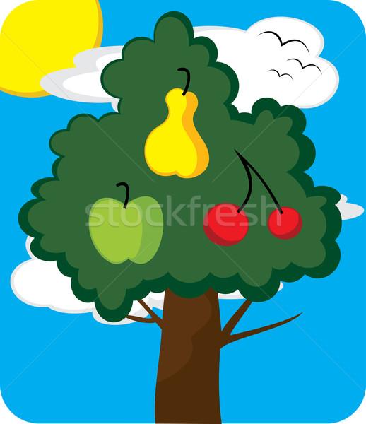 Orchard tree Stock photo © oxygen64
