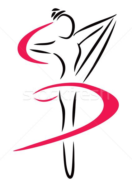 Dance Art Vector Illustration Oxygen64 4154847 Stockfresh