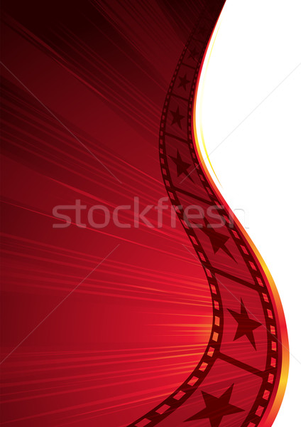 Hot film Stock photo © oxygen64