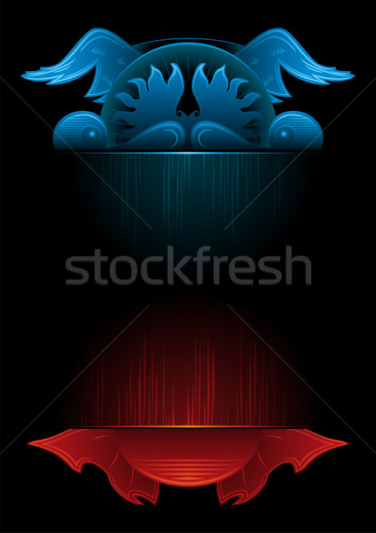 Gothic background Stock photo © oxygen64