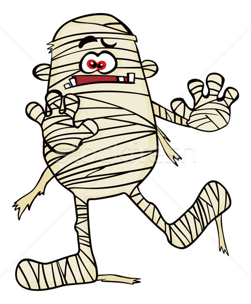 Creepy mummy Stock photo © oxygen64