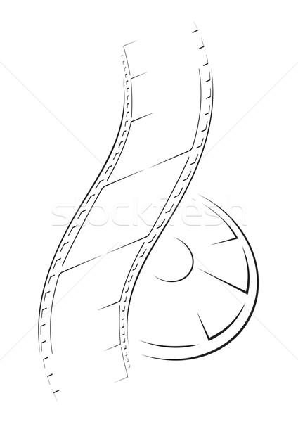 Film sketch  Stock photo © oxygen64