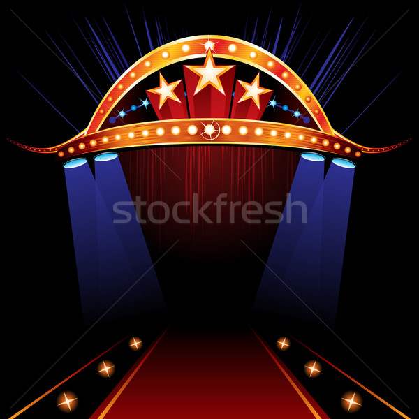 Famous Red Carpet Stock photo © oxygen64