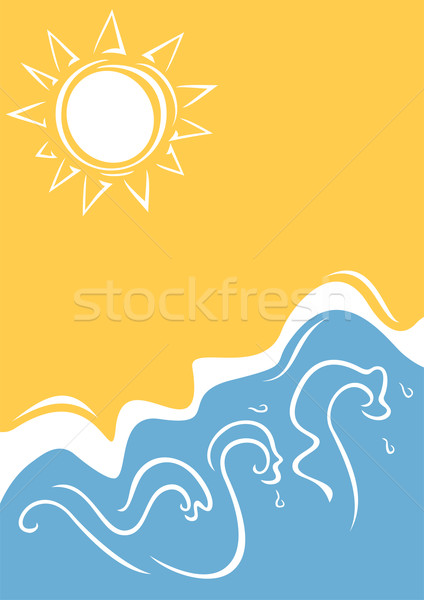 Summer background Stock photo © oxygen64