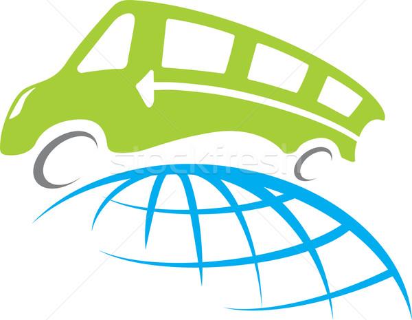 Сток-фото: автобус · путешествия · вокруг · все · Мир · земле