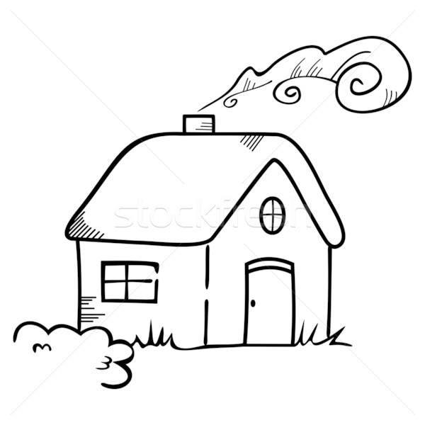 House symbol Stock photo © oxygen64