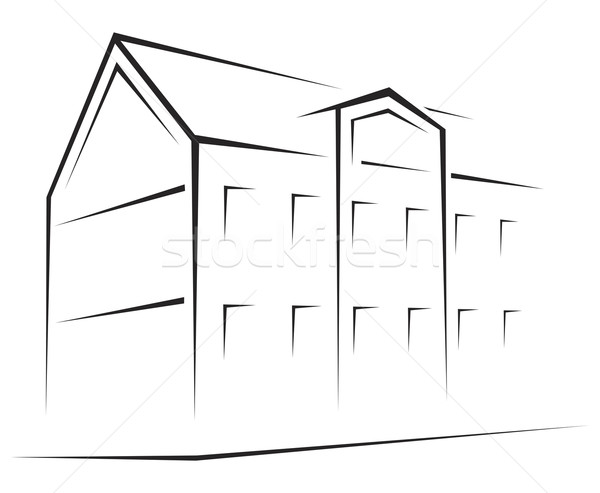 Building symbol  Stock photo © oxygen64