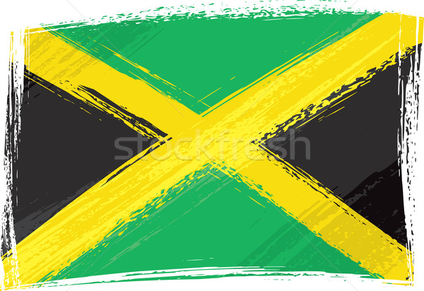 Grunge Jamaica flag Stock photo © oxygen64