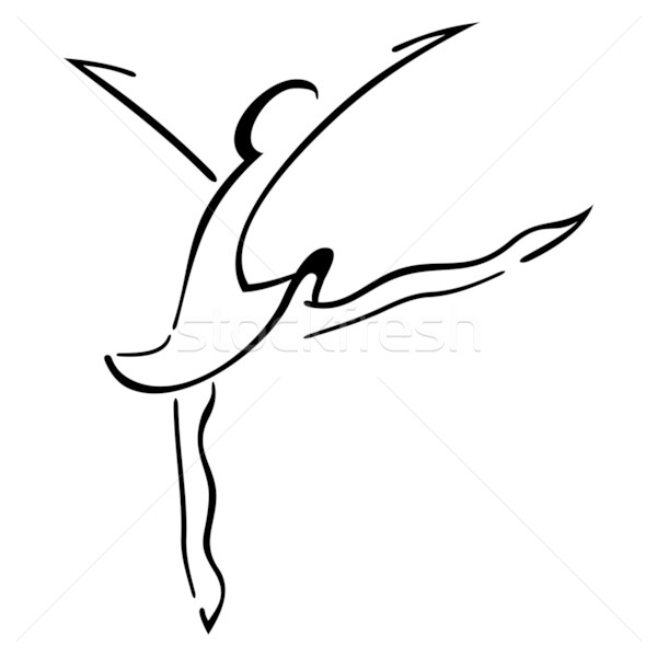Dance symbol Stock photo © oxygen64