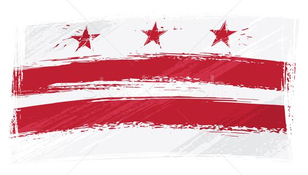Grunge Columbia flag Stock photo © oxygen64