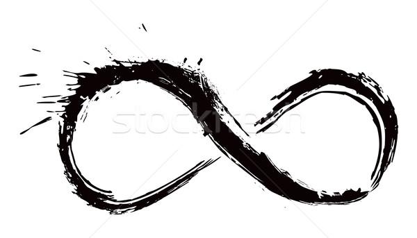 Grunge stil soyut dövme yalıtılmış Stok fotoğraf © oxygen64