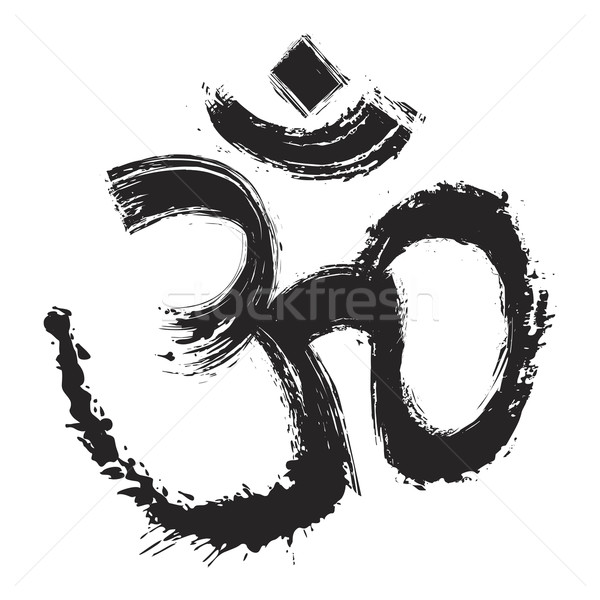 Artistic om symbol  Stock photo © oxygen64