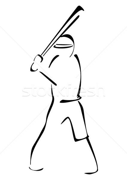 Baseball striker Stock photo © oxygen64