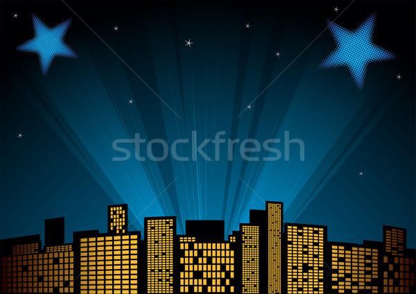 Stars at sky Stock photo © oxygen64