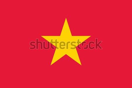 Vietnam flag Stock photo © oxygen64