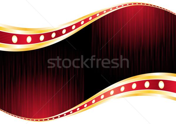 Kumarhane duvar kağıdı parlak kırmızı düzen neon Stok fotoğraf © oxygen64