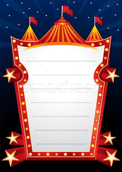 Circus design Stock photo © oxygen64