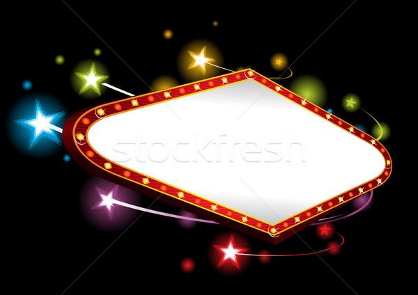 Première kleurrijk heldere sterren groot entertainment Stockfoto © oxygen64