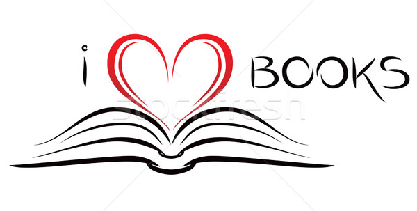 I love books Stock photo © oxygen64
