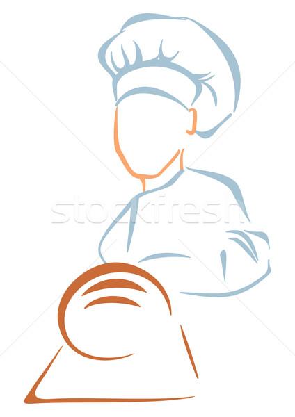 Bakery symbol Stock photo © oxygen64