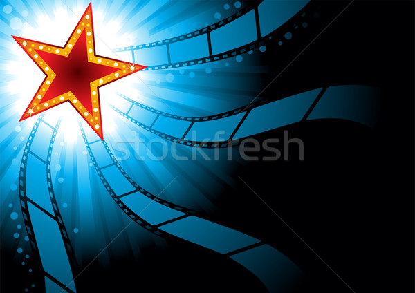 Cinema background Stock photo © oxygen64