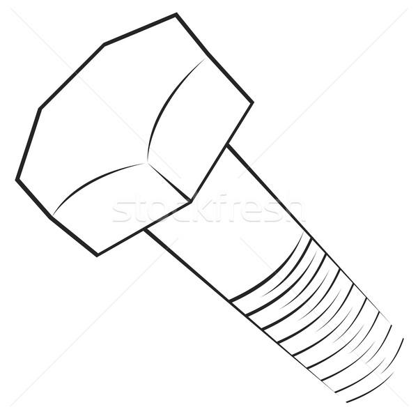 Screw symbol  Stock photo © oxygen64