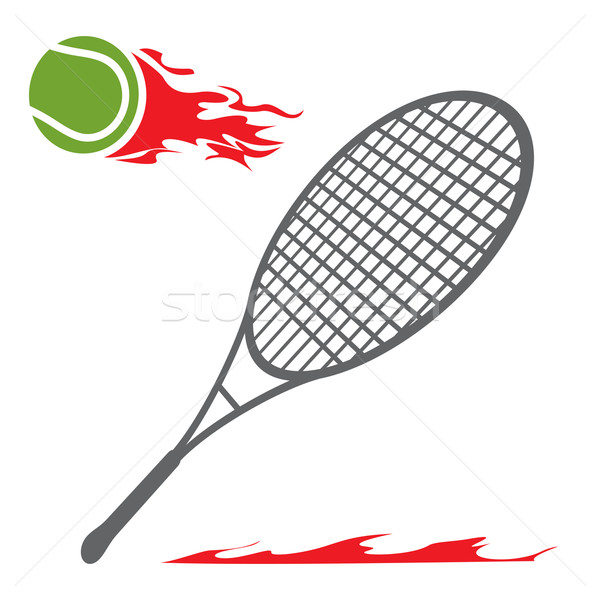 Tennis symbol Stock photo © oxygen64