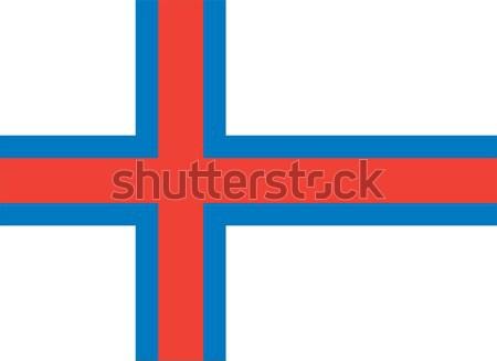 Bayrak vektör Stok fotoğraf © oxygen64
