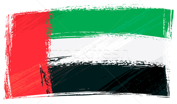 Grunge United Arab Emirates flag Stock photo © oxygen64
